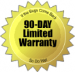 90-day Limited Warranty for Bed Bugs