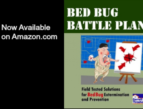 Bed Bug Battle Plan–Available Now on Amazon!