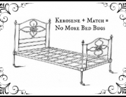 Iron Bed Easy to Rid of Bed Bugs